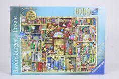 Ravensburger Premium Jigsaw Puzzle 1000 Pcs The Bizarre Bookshop No. 2 Difficult