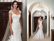 lucia - designer bridal gowns - suzanne neville - nostalgia collection 2012