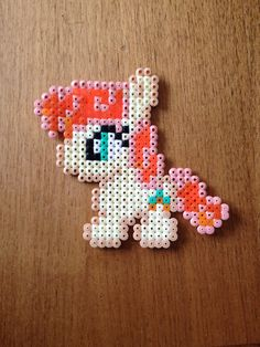 Golden harvest. My little pony. Bead pattern.