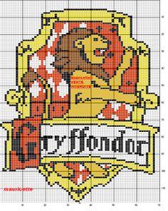 Ponto Cruz da Drayzinha: Graficos Harry Potter