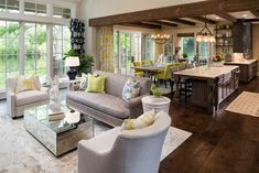 New French Country - traditional - Living Room - Minneapolis - Kyle Hunt & Partners, Incorporated