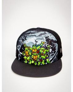 New Era Hero Break Out TMNT Snapback Hat