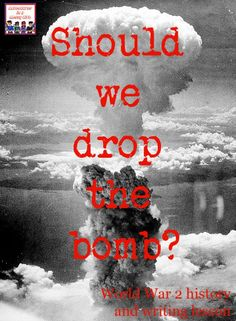 Should we drop the bomb WW2 history lesson Teaching American History, Teaching History, Ww2 History, Modern History, Hands On Learning, Hands On Activities, Hands On Geography, Drop The Bomb, Enola Gay