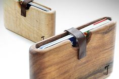 Beautiful wooden wallet by @SlimTimber by dutchcowgirls, via Flickr