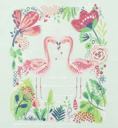 Girls Flamingo Top - Kids Clothing - Boots