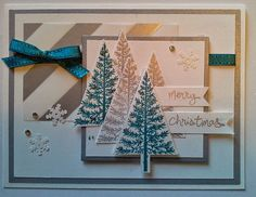#Festival of Trees, #Stampin' Up!, #Christmas Cards