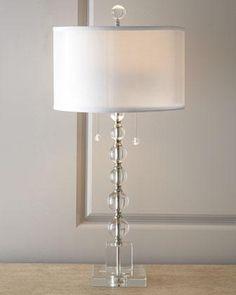 Crystal Table Lamp - Neiman Marcus