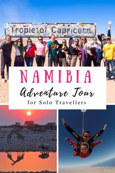 Highlights of the Rock My Namibia Adventure August - African Adventure Tour for Solo Travellers. Travel Ideas, Travel Inspiration, Travel Tips, Adventure Tours, Adventure Travel, Solo Travel, Us Travel, Africa Travel, Sierra Leone