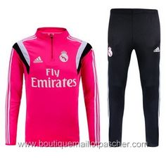 Survêtement de foot Adidas Training Real Madrid 2016 Rouge Maillot Sport c574c12bf22