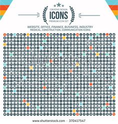 Big icon set,Business,Construction,Website,Database,Network,Healthy care icons,clean vector