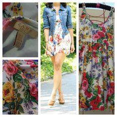 cecd33e372a908 Zara Dress Floral. Free shipping and guaranteed authenticity on Zara Dress  FloralCute mini-dress. Tradesy