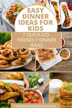 When coming up with easy dinner ideas – there is only one thing harder which is coming up with easy dinner ideas for kids, right? Some nights they spread everything around the plate and then ask to be excused. Other nights, they clean their plates and ask for seconds. And when you have a picky eater on your hands - it becomes more difficult. So, I have compiled easy kid-friendly recipes and the adults will also love them, too. And a bonus, most of these take 30 minutes or less to prepare…