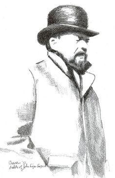 John Singer Sargent Pencil Portrait