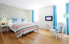 Best family suite, Watergate Bay Hotel, near Newquay, Cornwall.