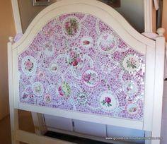 Queen Size Mosaic Headboard- Custom Order