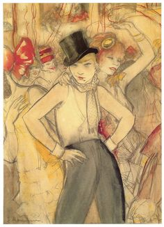 She Represents, 1927, Jeanne Mammen