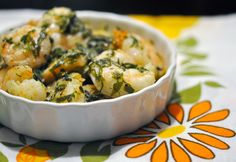 Baked Shrimp With Olive Oil and Herbs: For a fresh take, bathe shrimp in olive oil and a trio of fresh herbs.