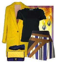 """""""Fall Brights"""" by easy-dressing ❤ liked on Polyvore featuring MSGM"""