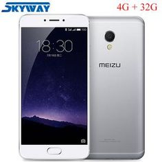 Meizu MX6 4GB 32GB Global Firmware MTK Helio X20 Deca Core Mobile Phone 5.5 inch 1080p Fingerprint Cell Phone