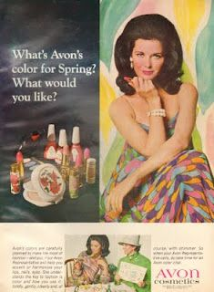 Avon Cosmetics 1967...Love the Vintage Avon ladies! Be sure to get with me on Facebook to check out the latest and greatest deals on all of the Fabulous Avon items!!
