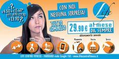 ADV - LIFE Centro Fitness #Fabriano (marzo2014) 6x3m
