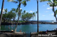 a bit of heaven on earth. Ahalanui Hot Pond - Big Island, Hawaii