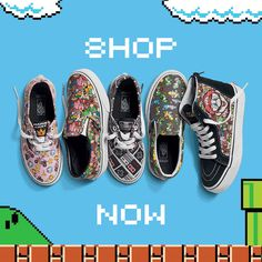 Vans X Nintendo | Home › Blog