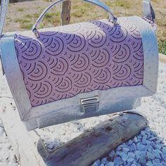 Elo Die sur Instagram: Voici mon joli sac Quadrille de chez @patrons_sacotin . Réalisé en taille médium avec les jolis tissus de chez @lamerceriedescreateurs .…