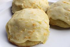 Orange Drop Cookies (from my Mom's Best Recipes Cook Book)  2/3 C butter  ¾ C sugar  1 egg  ½ C orange juice  2 T grated orange rind  2 C flour  ½ t baking powder  ½ t soda  ½ t salt    Mix; drop on cookie sheet. Bake 375° about 8-10 minutes.     Cool partially, then frost with a mixture of the following  2 T soft butter  1 T grated orange rind  2 T orange juice  2 C powdered sugar    Blend and spread on cookies when they are mostly cooled.