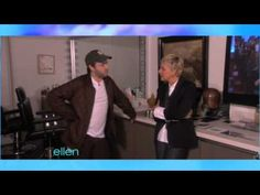 Hilarious Behind-the-Scenes Outtakes- The Ellen Show... I was in tears