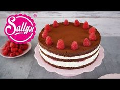 Chorizo ​​cake fast and delicious - Clean Eating Snacks Sully Cake, Chocolate Raspberry Cake, Chocolate Cake, Naked Cakes, Fiber Rich Foods, Cake Youtube, Cake Toppings, Cake Tins, Clean Eating Snacks