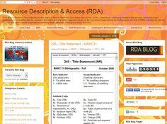 245 - Title Statement - MARC21 #RDA #CATALOGING #RDABLOG #MARC21 http://resourcedescriptionandaccess.blogspot.com/2015/01/245-title-marc21.html