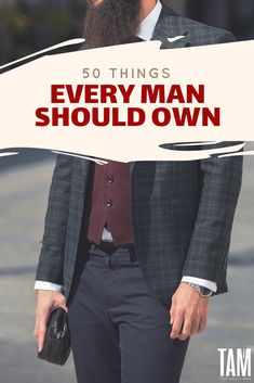 50 Things Every Man Should Own (ULTIMATE LIST). READ MORE