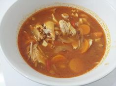 Puerto Rican Chicken Soup