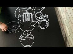 for more creative pongal rangolies please click below link. Traditional Rangoli Design, Mattu Pongal, Diy Room Decor Videos, Sankranthi Muggulu, Alpona Design, Special Rangoli, Indian Rangoli, Rangoli Designs With Dots, Simple Rangoli
