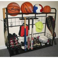 Sports+Organizer+for+Garage | > Garage > Sports Equipment Organizers > Sports Equipment Organizers ...
