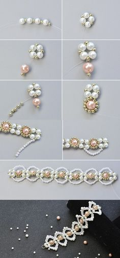 Wanna this elegant pearl bracelet