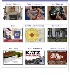 Gary Katz Online - A comprehensive educational community devoted to carpentry.