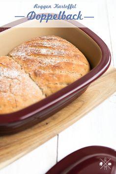 Roggen-Kartoffelbrot aus dem Zaubermeister von The Pampered Chef | relleomein.de #thermomix #rezept #brot #backen
