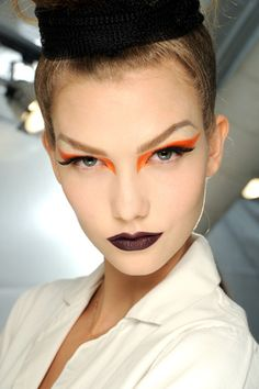Dior fall 2010 Couture makeup - dramatic look