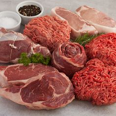 Prather Ranch 100% Grass-Fed. Basic Butcher's Box Monthly Delivery