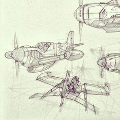 more plane sketches