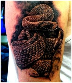 100 Amazing Snake Tattoo Designs and Meanings cool  Check more at http://fabulousdesign.net/snake-tattoos-meanings/