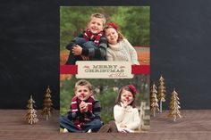 LOVE the sucker nose idea!!  Christmas Ribbon by Ann Gardner at minted.com