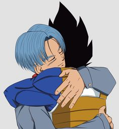 Im sorry for the pain I caused you my son for not hugging you when you needed one and most importantly being there for Trunks And Mai, Vegeta And Trunks, Vegeta And Bulma, Goku, Db Z, Anime Japan, Cute Comics, Dragon Ball Z, Memes