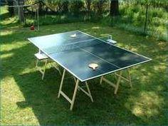 ping pong table $38.00 great fun in the backyard...priceless