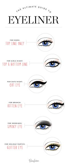 The 6 Best Eyeliner Looks for Every Occasion #RueNow