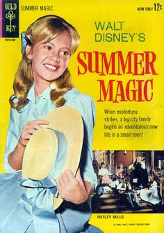 Walt Disney's Summer Magic.  Loved all the Haley Mills movies Disney made