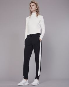 Side Stripe Joggers by ME and EM