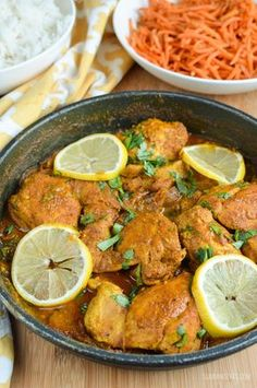 Slimming Eats Syn Free Lemon Chilli Chicken - gluten free, dairy free, paleo, Whole30, Slimming World and Weight Watchers friendly